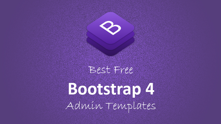 Best free bootstrap 4 admin panel templates
