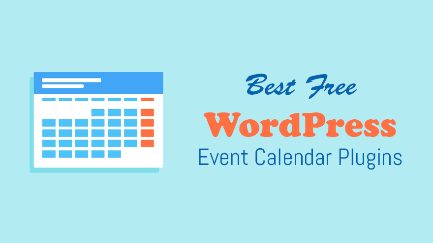 Best Free WordPress Event Calendar Plugins