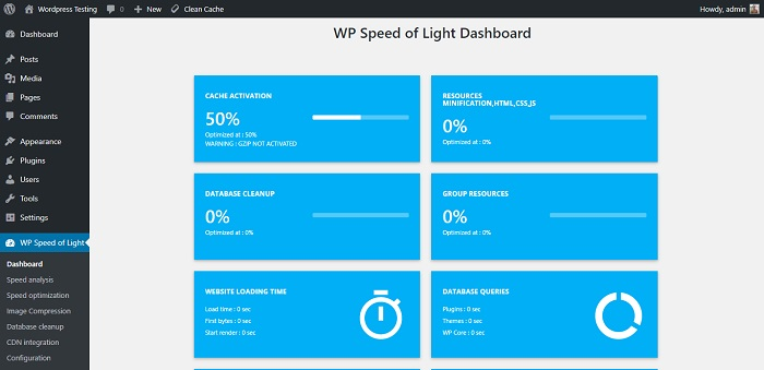 WP Speed of Light